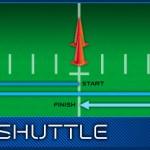 20 yrd shuttel run nfl combine training arizona