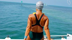 Diana Nyad Swam for 103 miles