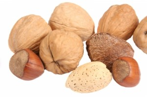 Nuts are a great source of protein and fat as well.