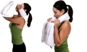 Neck Exercise (Backward Resistance)