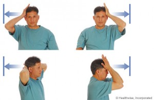 Neck Exercise (Forward Resistance)