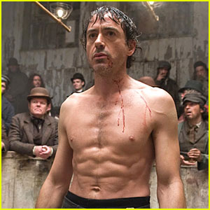 Robert Downey Jr. Celebrity Workout