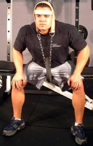 Weighted Neck Extensions Using a Head Harness