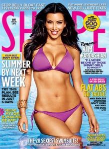 Kim kardashian Celebrity hot fitness model