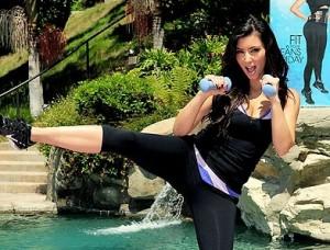 Kim kardashian Celebrity Fitness Training Program