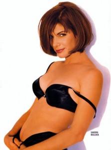 Sandra Bullock Hot Celebrity Fitness Training