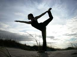 Yoga is great for overall fitness.